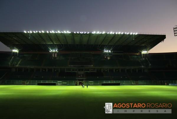 Illuminazione Stadio Comunale Renzo Barbera di Palermo